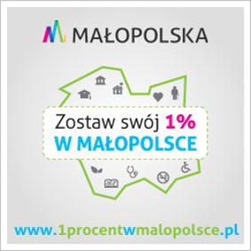 Zostaw swój 1% w Małopolsce